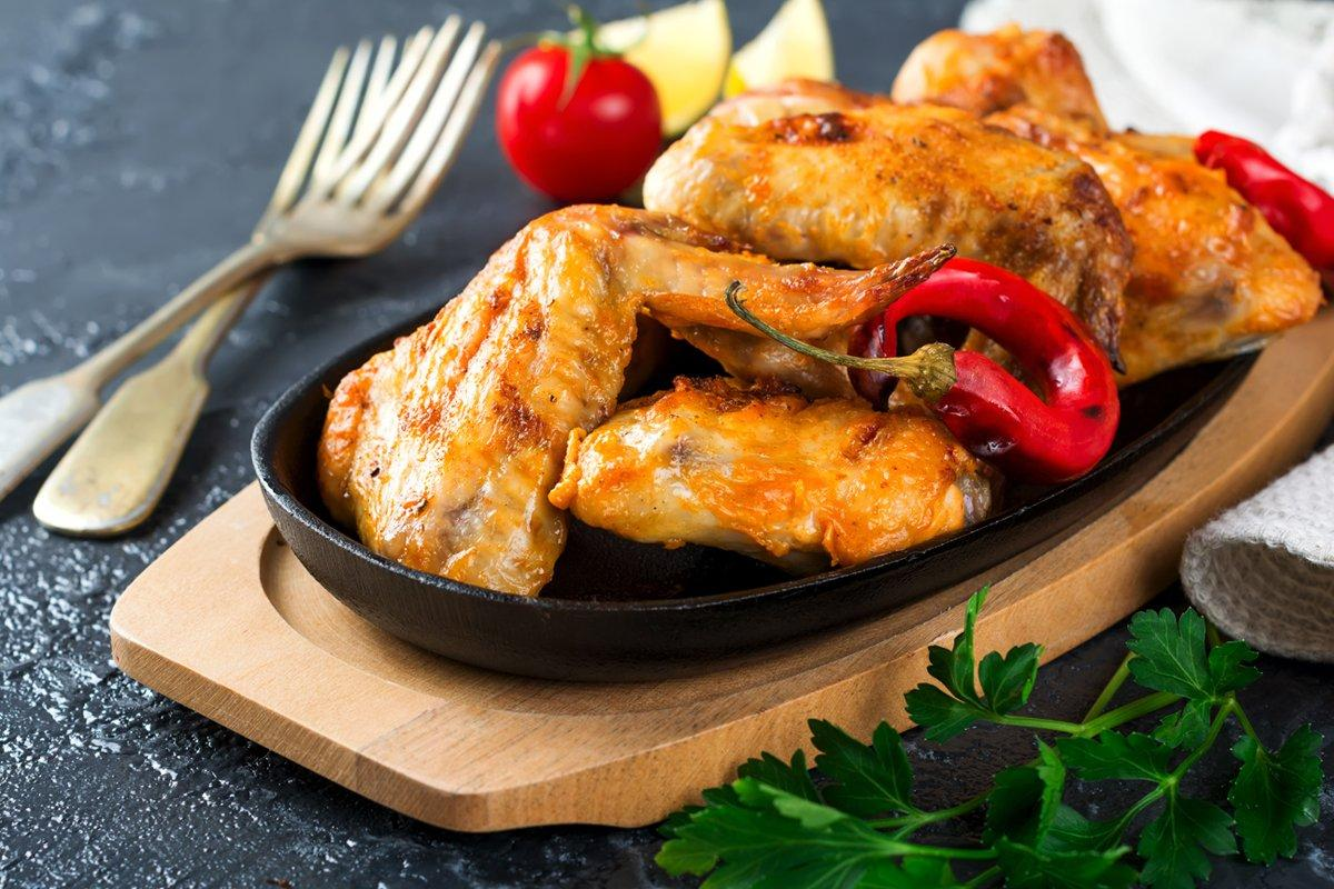 Salt & Pepper Chicken Wings Recipe