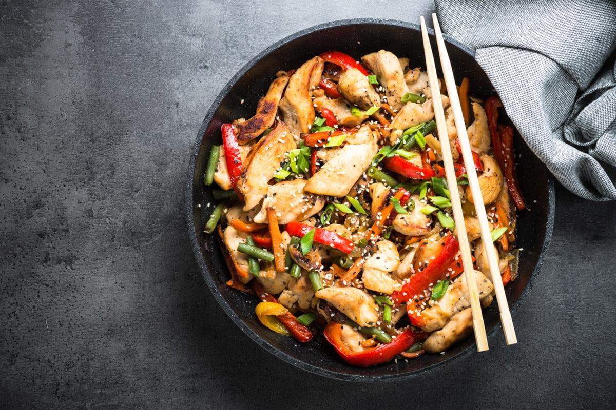 Salt & Pepper Chicken Stir Fry Recipe