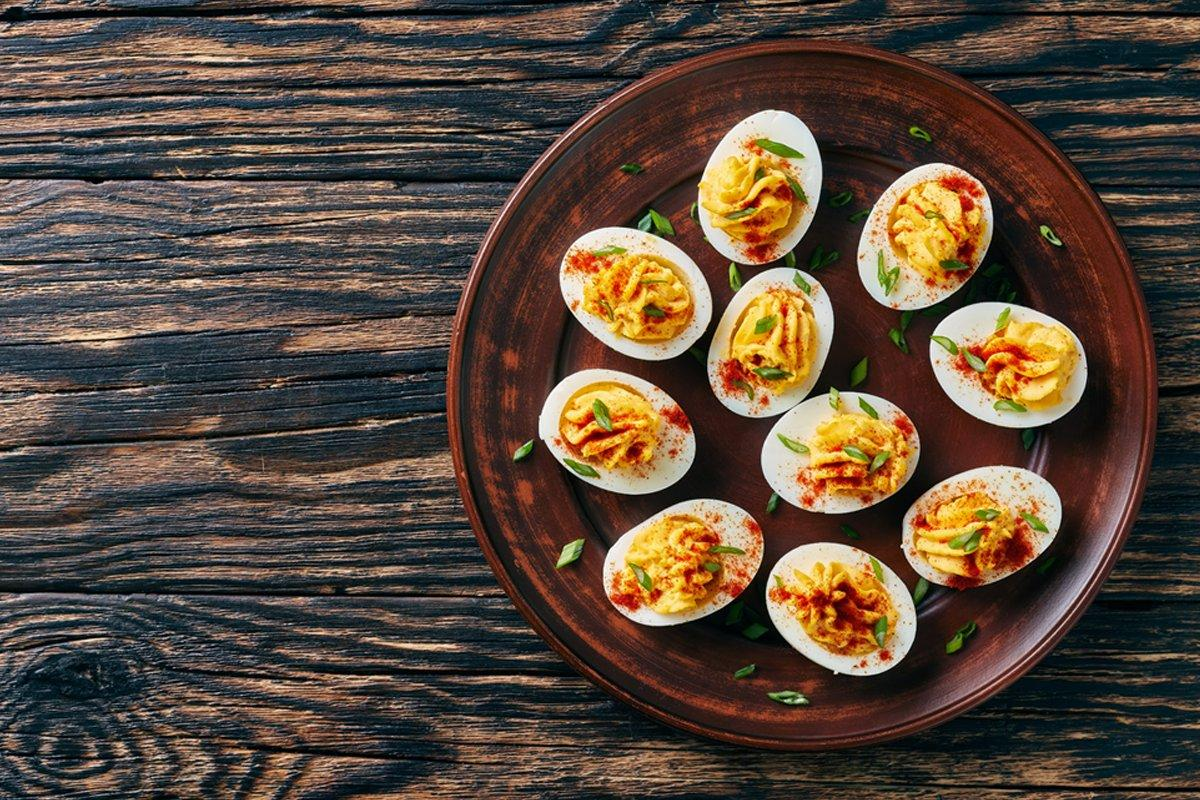 Salt & Pepper Deviled Eggs Recipe