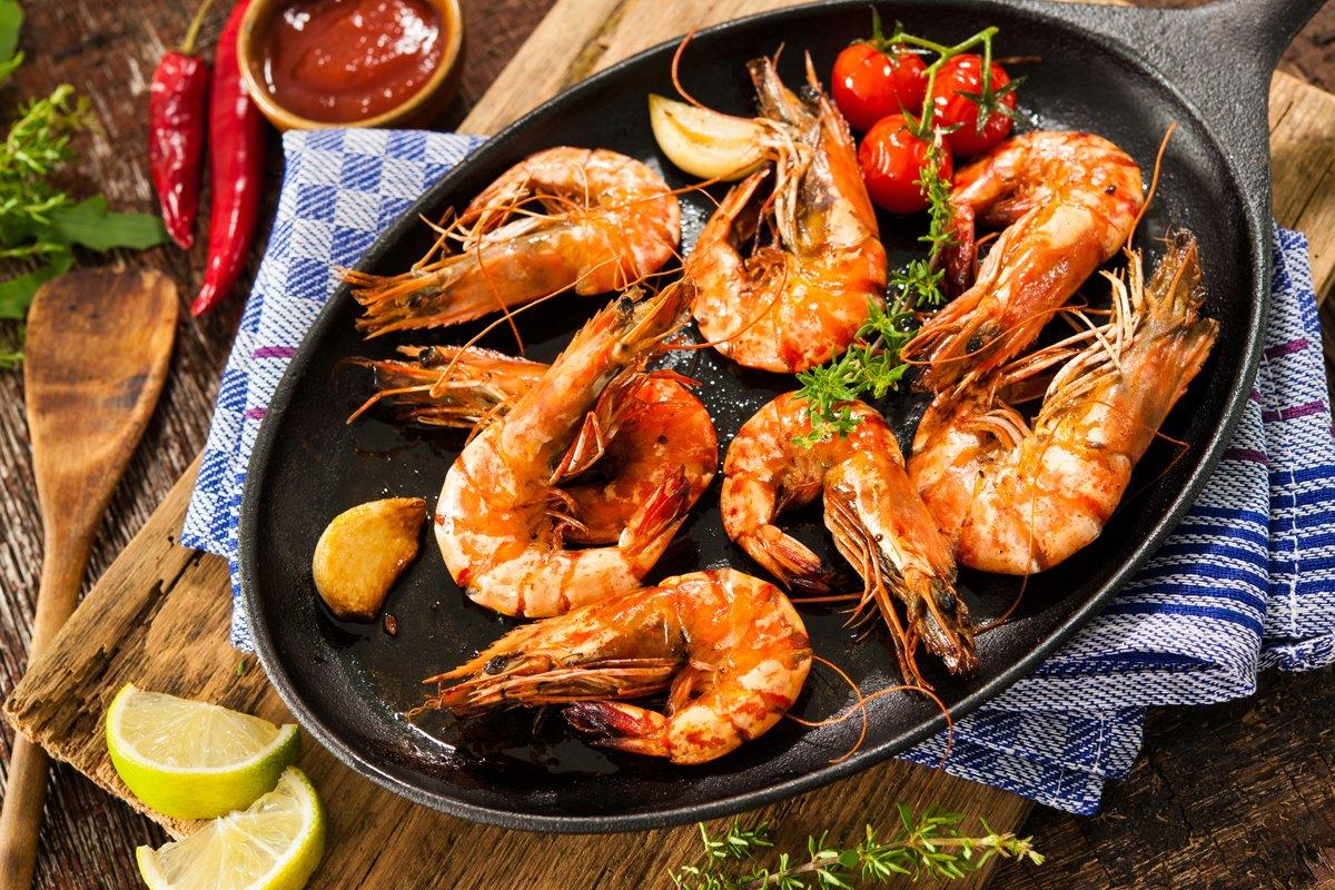 Salt and Pepper King Prawn Recipe